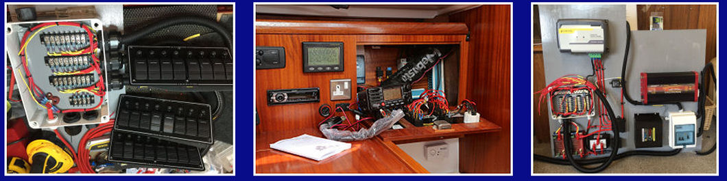Electrical boat systems